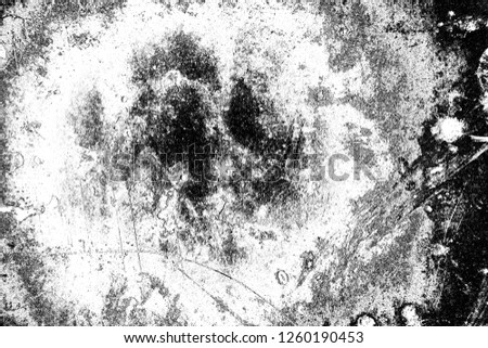 Abstract background. Monochrome texture. Image includes a effect the black and white tones. #1260190453