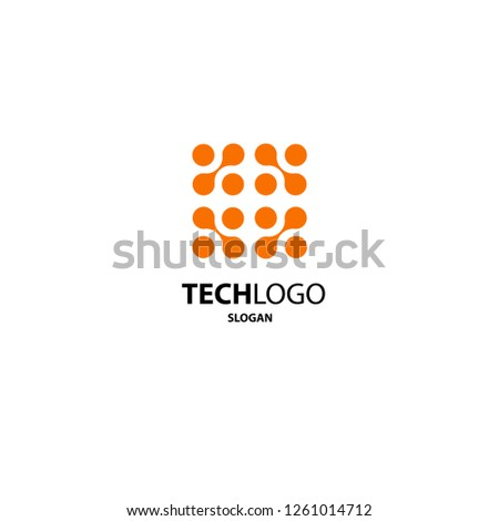 Abstract Tech Logo #1261014712