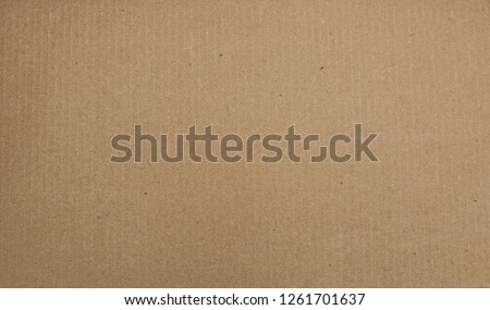 Cardboard paper background. Textural background for design. #1261701637