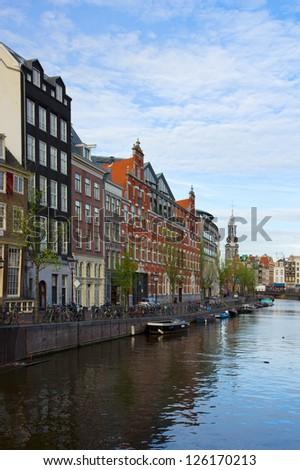 Amsterdam inner city, Netherlands #126170213