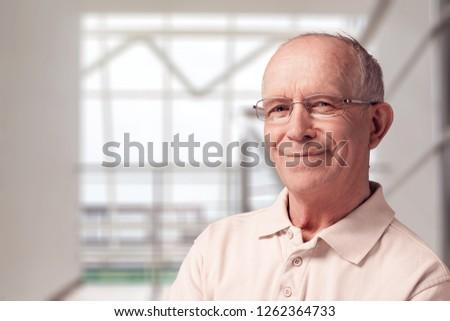 Old man close-up #1262364733