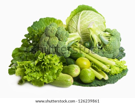 still life of fresh cabbage #126239861