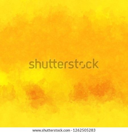 Watercolor paper background. Abstract Painted Illustration. Brush stroked painting. #1262505283