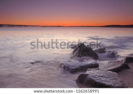 Lake Superior Sunrise #1262658991