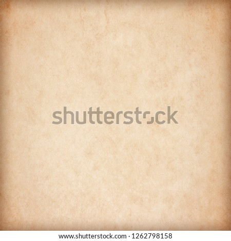 Old Paper texture. vintage paper background or texture; brown paper texture #1262798158