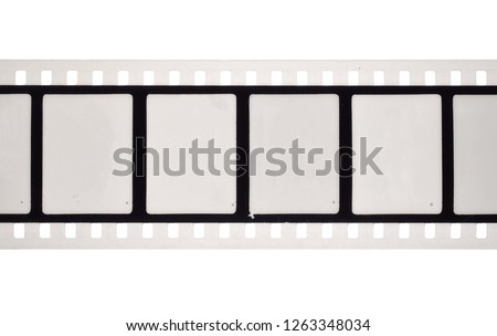 Vintage Film stock For still photography or motion picture. Isolated
