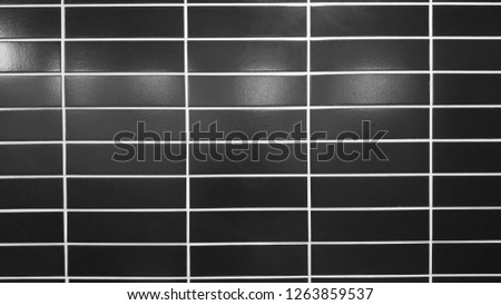 black and white wall #1263859537