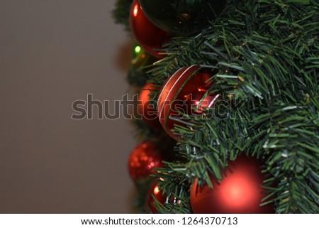 Christmas wreath closeup #1264370713