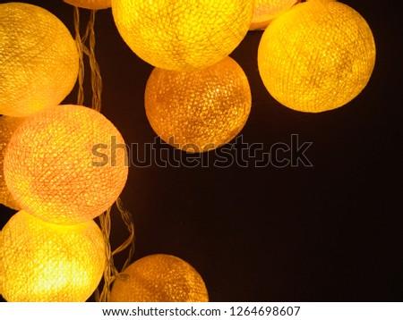 Christmas light balls #1264698607