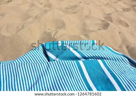 White sand beach #1264781602
