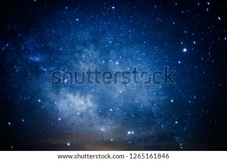 Constellation Scorpius and the Milky Way