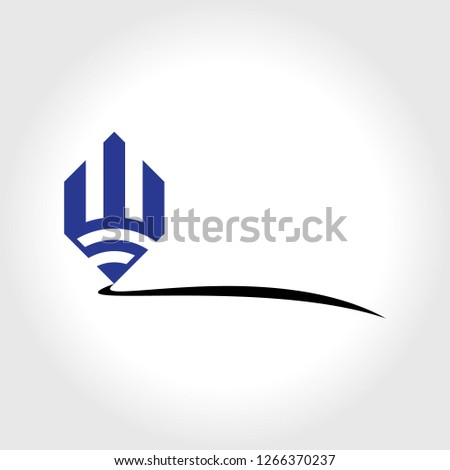pen logo template #1266370237