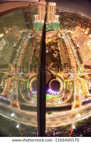 Jakarta, Indonesia - Januari 1st 2017 : From The Rooftop #1266460570