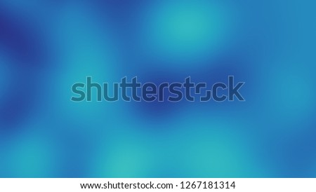 Abstract digital fractal pattern. Blurred defocused pattern. #1267181314