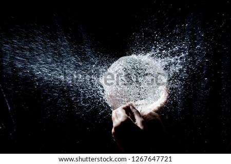 explosion water balloon #1267647721