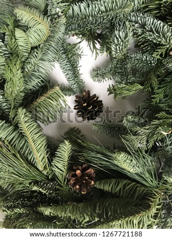 Christmas tree decor #1267721188