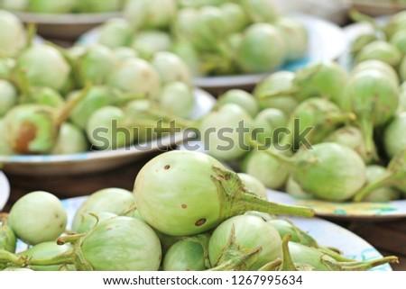 eggplant at street food #1267995634
