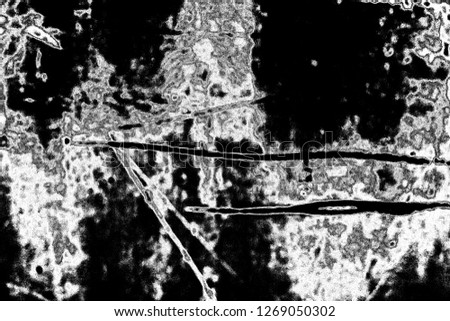 Abstract background. Monochrome texture. Image includes a effect the black and white tones. #1269050302