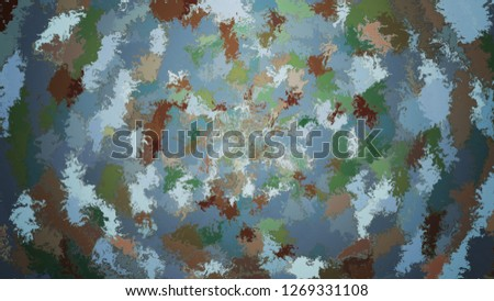Abstract background with color blots, transitions and bends. #1269331108