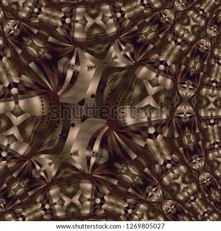 abstract multicolor texture kaleidoscope #1269805027