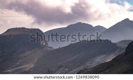 mountain ranges of mexico #1269838090