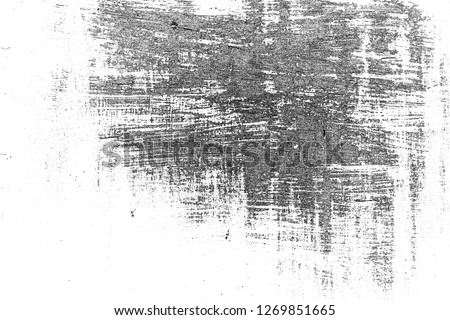 Abstract background. Monochrome texture. Image includes a effect the black and white tones. #1269851665