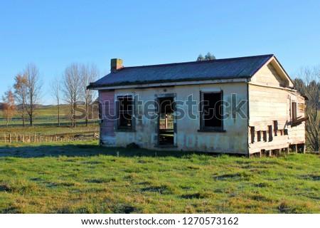 Abandoned house, National Park, New Zealand #1270573162