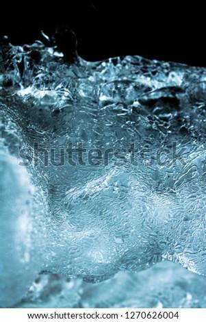 Frozen water close #1270626004