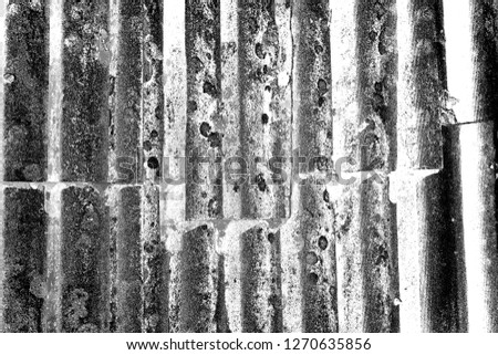 Abstract background. Monochrome texture. Image includes a effect the black and white tones. #1270635856