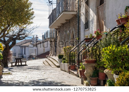 Faeto Old Apulian Town #1270753825