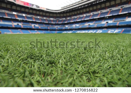 a football field #1270816822