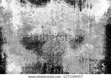 Abstract background. Monochrome texture. Image includes a effect the black and white tones. #1271104417