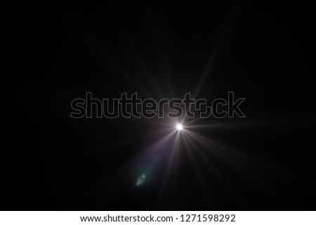 lens flare light #1271598292