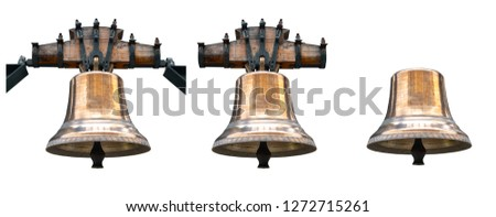 Bell isolated on white background #1272715261
