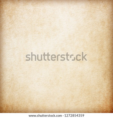 Old Paper texture. vintage paper background or texture; brown paper texture #1272854359