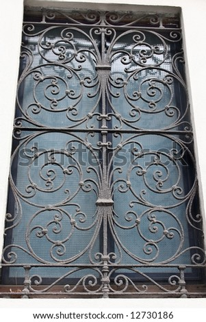 Metal grill for window #12730186