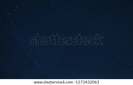 Astronomy Photo of Night Starry Sky Background