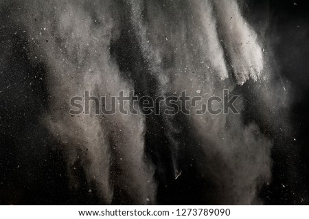 Falling Ash Dirt Debris with particles Background Royalty-Free Stock Photo #1273789090