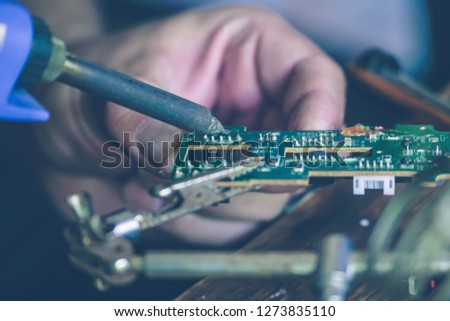 Repair of electronic devices #1273835110