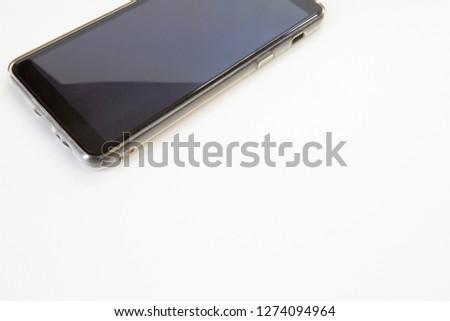 smartphone on white background #1274094964