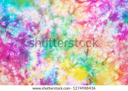 colorful tie dye pattern abstract background #1274988436