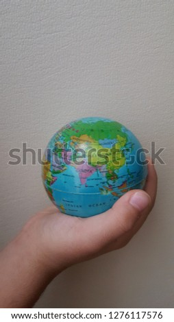 small boy world sphere #1276117576