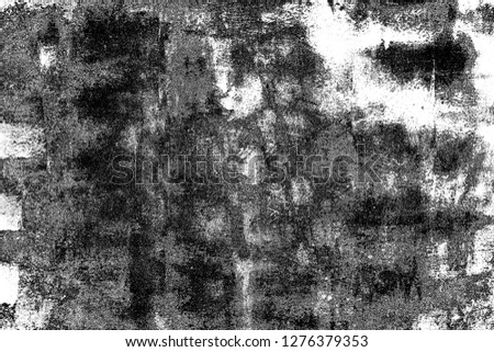 Abstract background. Monochrome texture. Image includes a effect the black and white tones. #1276379353