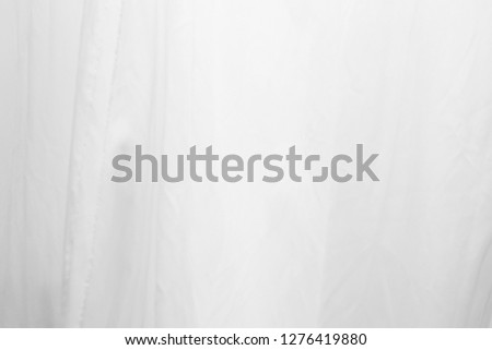 Closeup of white cloth texture.abstract background.  #1276419880