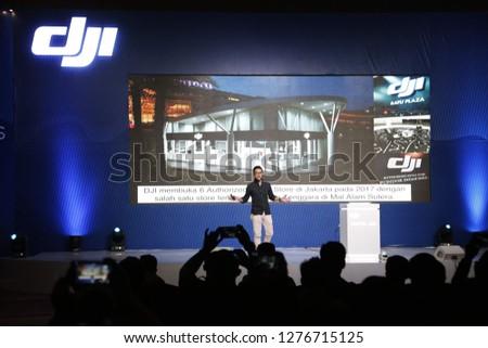 JAKARTA - MAR 9 : DJI Mavic Air Grand Launching and press conference in Jakarta , Mar 9, 2018. - Image #1276715125