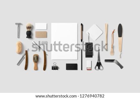 Barber & Cosmetics branding #1276940782