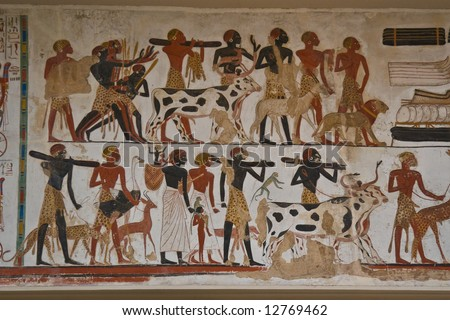 Egyptian Painting #12769462