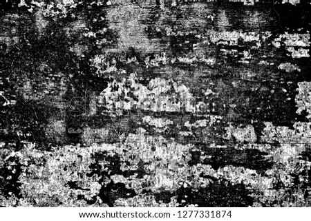 Abstract background. Monochrome texture. Image includes a effect the black and white tones. #1277331874