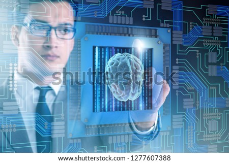 Cognitive computing concept as modern technology #1277607388