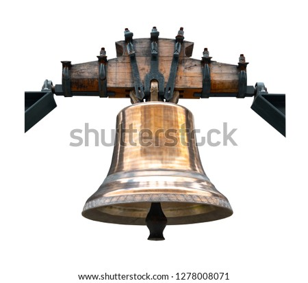 Bell isolated on white background #1278008071